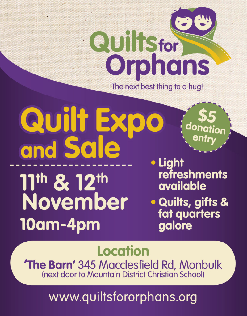 QuiltsForOrphans Expo2017