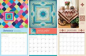 Quilt calendar