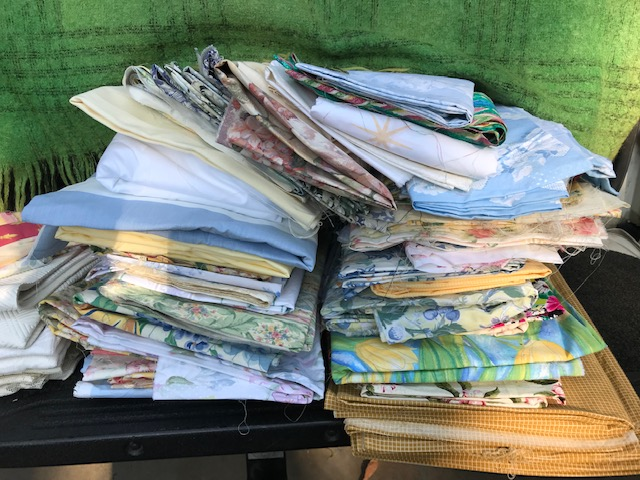 Joan reid fabric donation