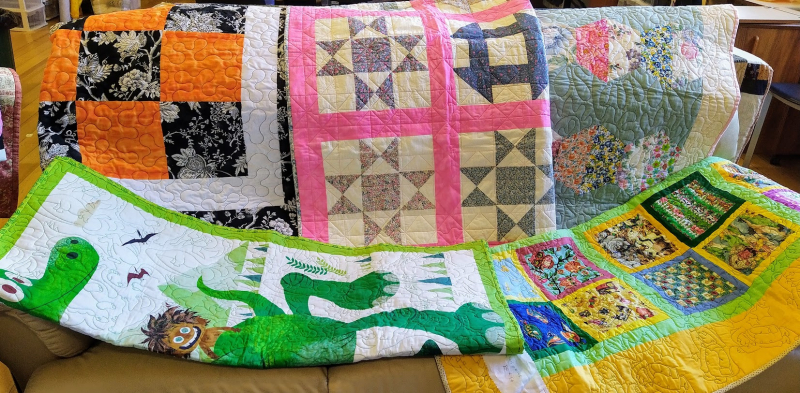 Ph 8 Nellie's group - finished quilts - second - Copy
